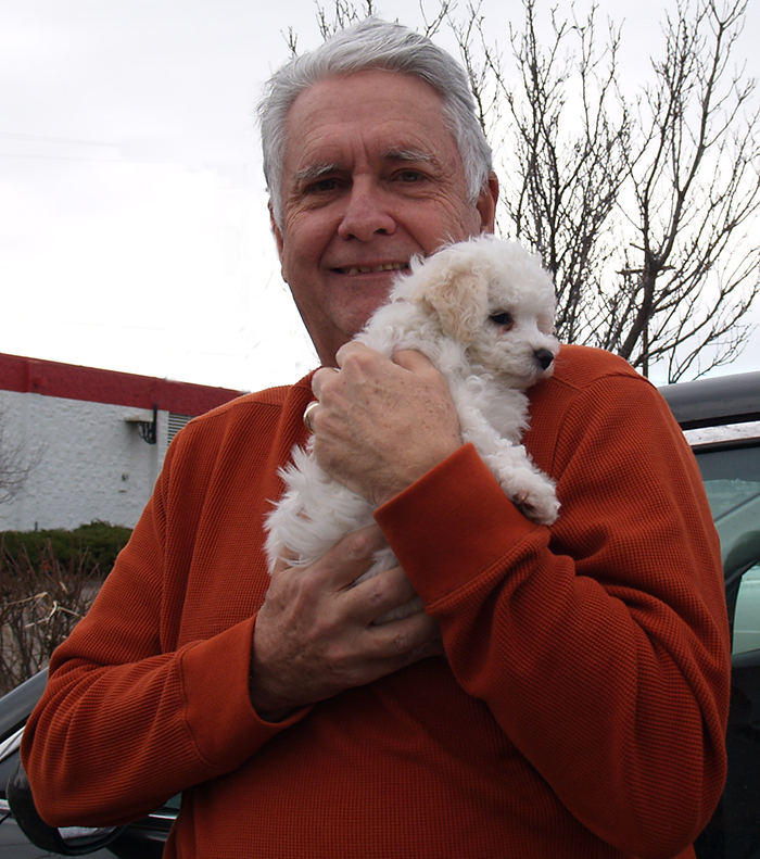 Bichon Frise Puppy Hood River Oregon